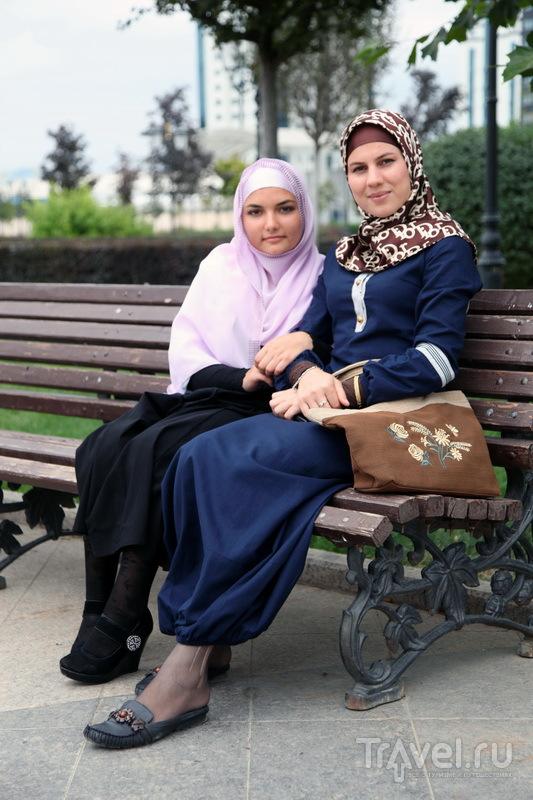 Чеченские красавицы / Фото из России