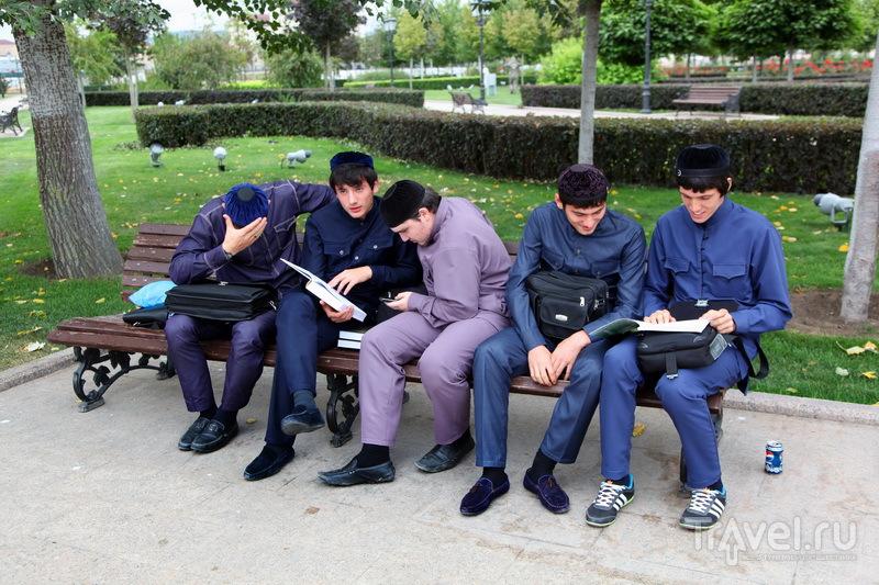 Чеченские студенты / Фото из России