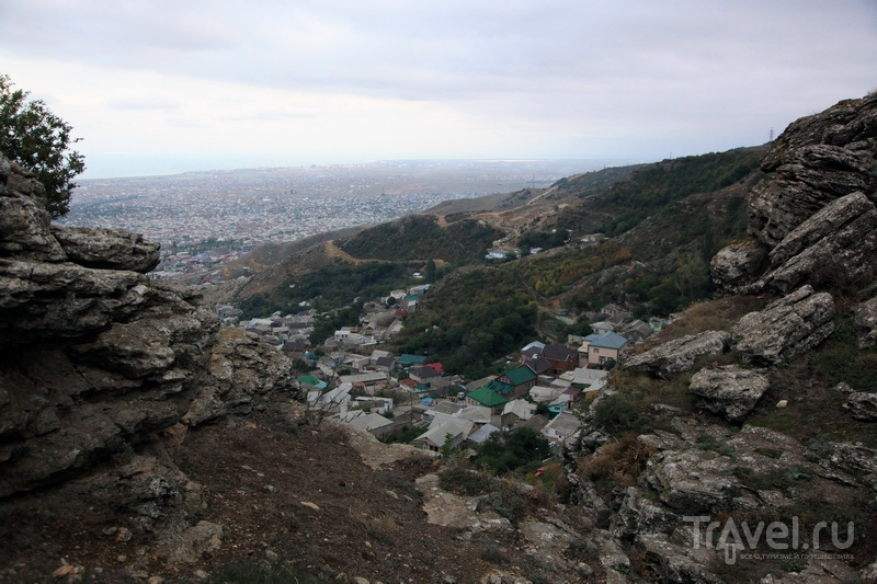Вид на Махачкалу с горы Тарки-Тау / Фото из России