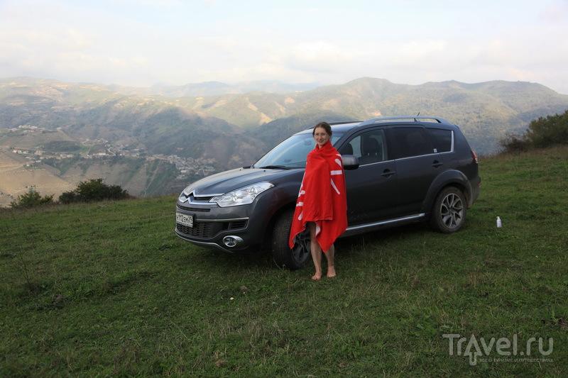 Душ на высоте 200 м в горном Дагестане / Фото из России