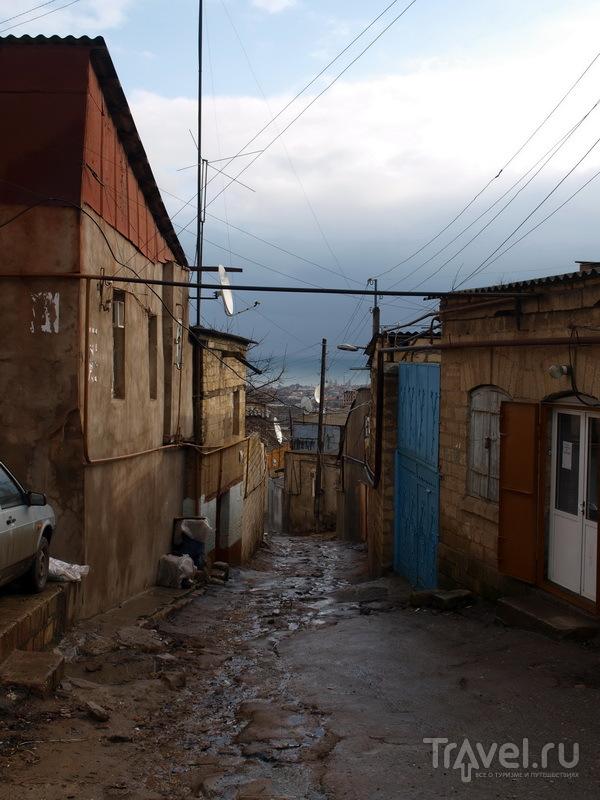 Узкие улочки Дербента / Фото из России