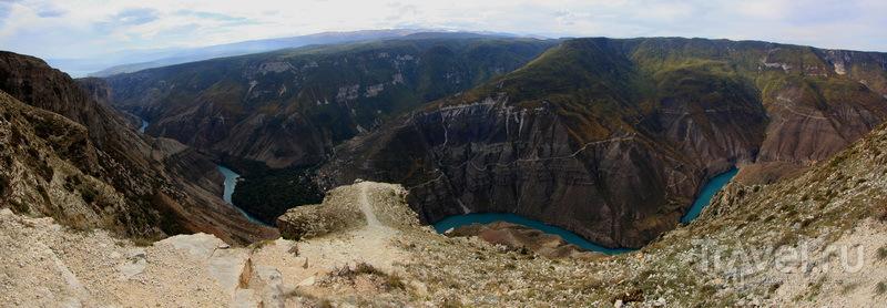 Чиркейская ГЭС - крупнейшая на Северном Кавказе / Фото из России