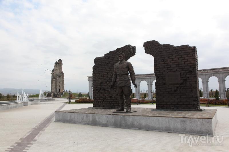 Назрань. Фрагмент мемориала жертвам политических репрессий / Фото из России