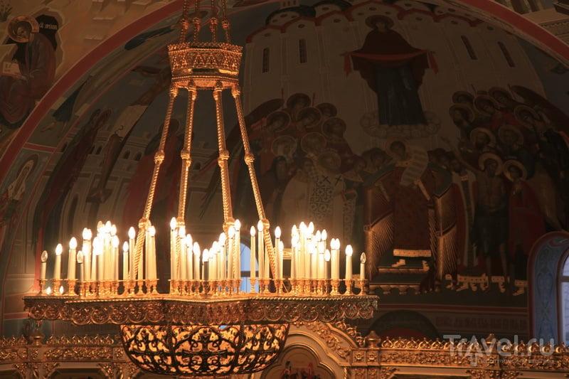 Один из светильников / Фото из России