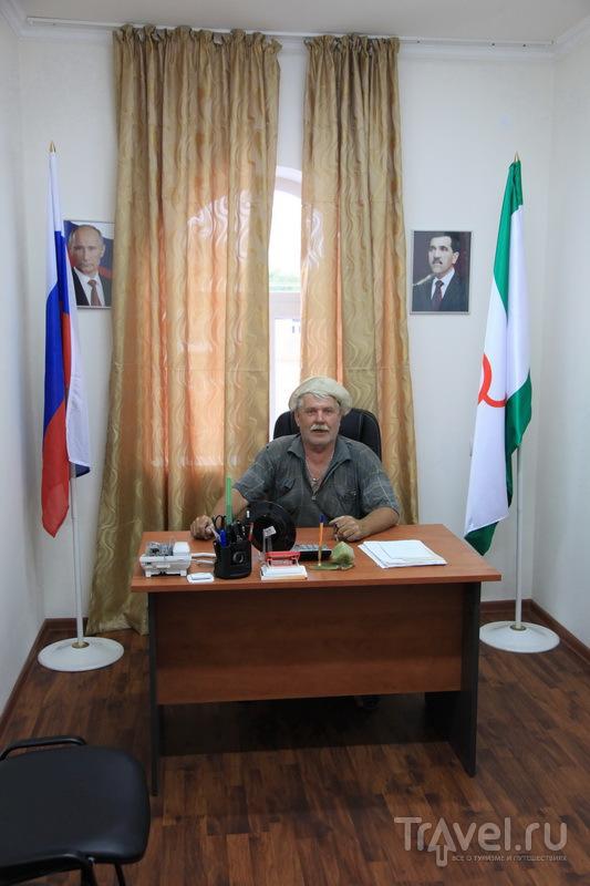 Зам. атамана Ингушетии / Фото из России