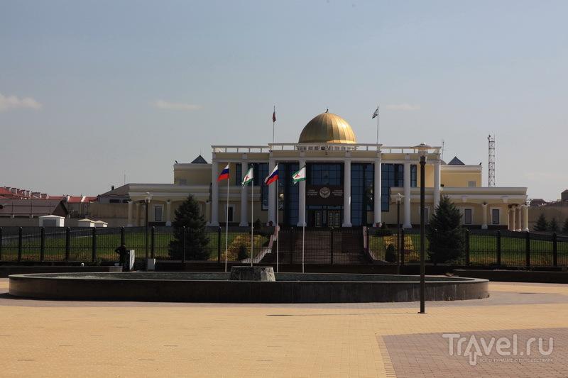 Магас, администрация президента респ. Ингушетия / Фото из России