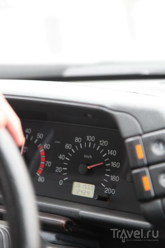 Средняя скорость передвижения по Ингушетии / Фото из России