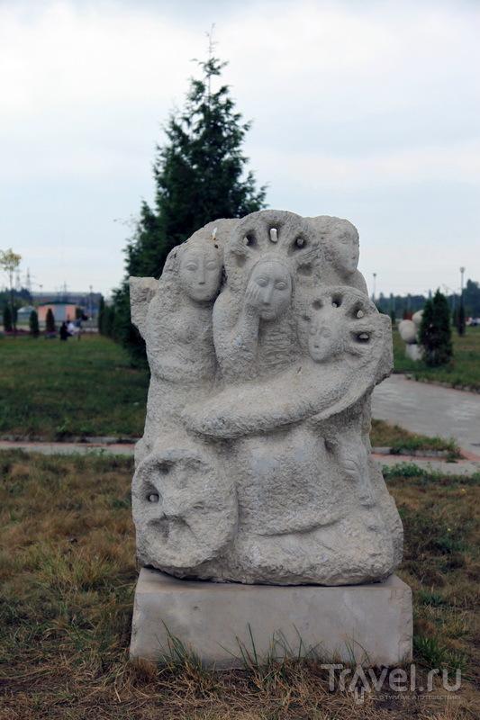 Что хотел изобразить автор, остается только догадываться / Фото из России