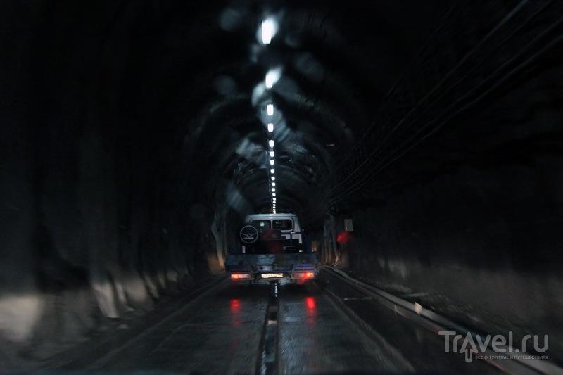 Рокский тоннель / Фото из России