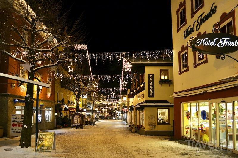 Центральная улица Целль-ам-Зее, Австрия