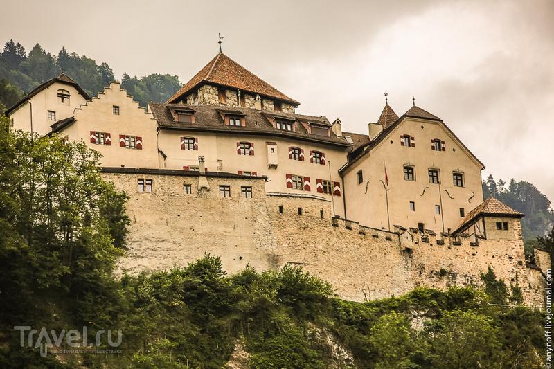 Замок Вадуц, Лихтенштейн / Фото из Германии