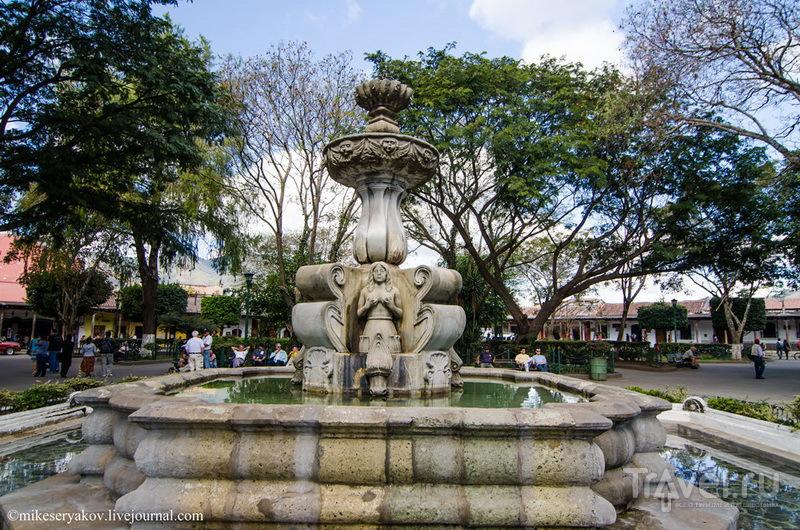 Фонтан русалок, Гватемала / Фото из Гватемалы