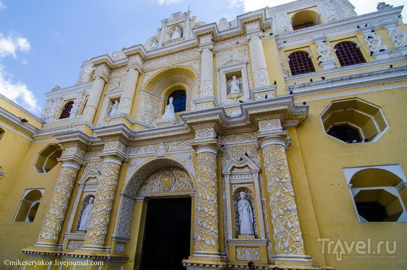 Церковь Милосердия (de la Merced), Гватемала / Фото из Гватемалы