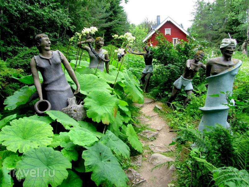 На создание парка скульптур финский художник Вейё Рёнккёнэн потратил полвека / Финляндия