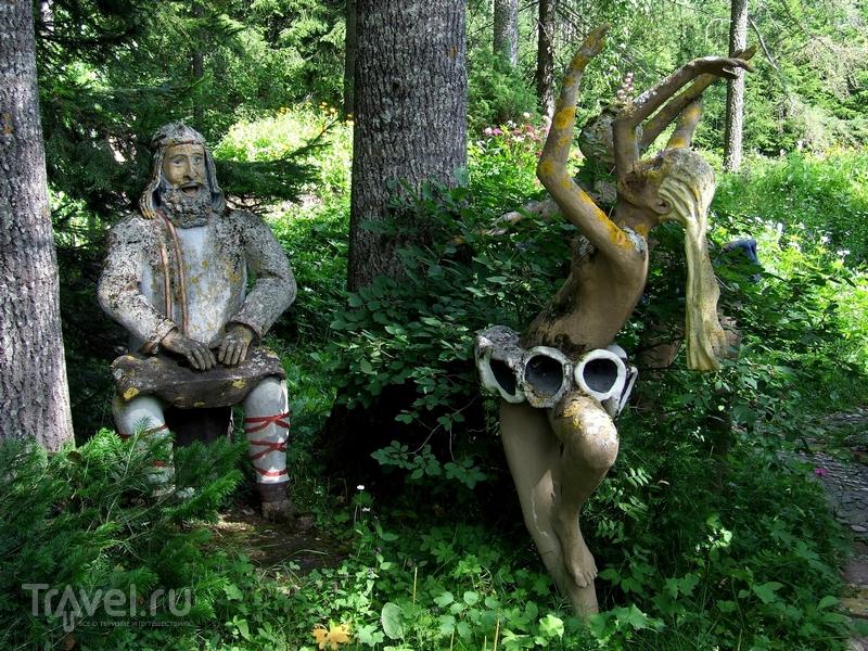 Общее количество авторских работ в парке достигает пяти сотен / Финляндия