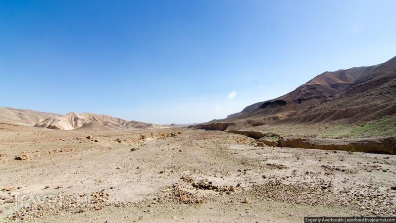 По Иудейской пустыне из Арада к Мёртвому морю / Израиль