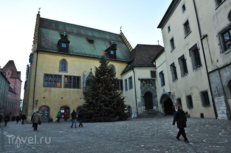 Старая ратуша (рейхстаг) в Регенсбурге, Германия / Фото из Германии