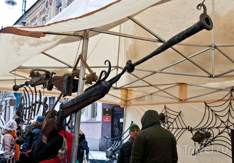 На ярмарке Казюкас, Вильнюс / Фото из Литвы