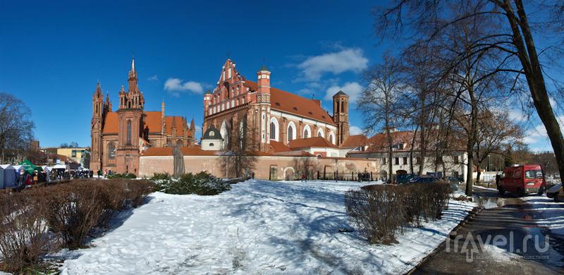 Костел Св. Анны и костел бернардинцев, Вильнюс / Фото из Литвы