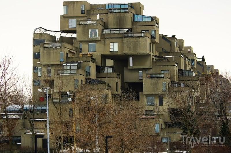 Комплекс зданий Хабитат в Монреале, Канада / Фото из Канады