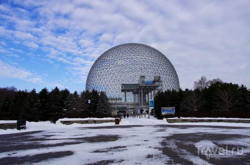 Биосфера в Монреале, Канада / Фото из Канады