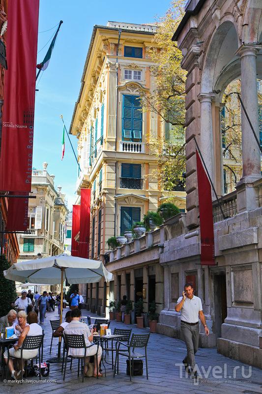 Виа Гарибальди в Генуе, Италия / Фото из Италии