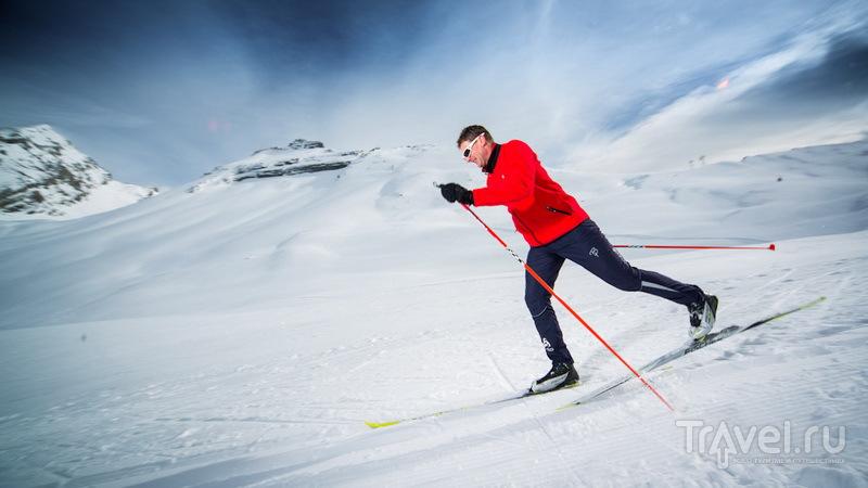 Лейкербад: бегом на лыжи!