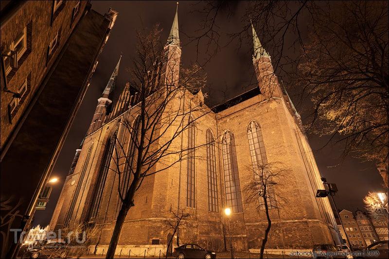 Гданьск, каким мы увидели его в первый раз / Фото из Польши