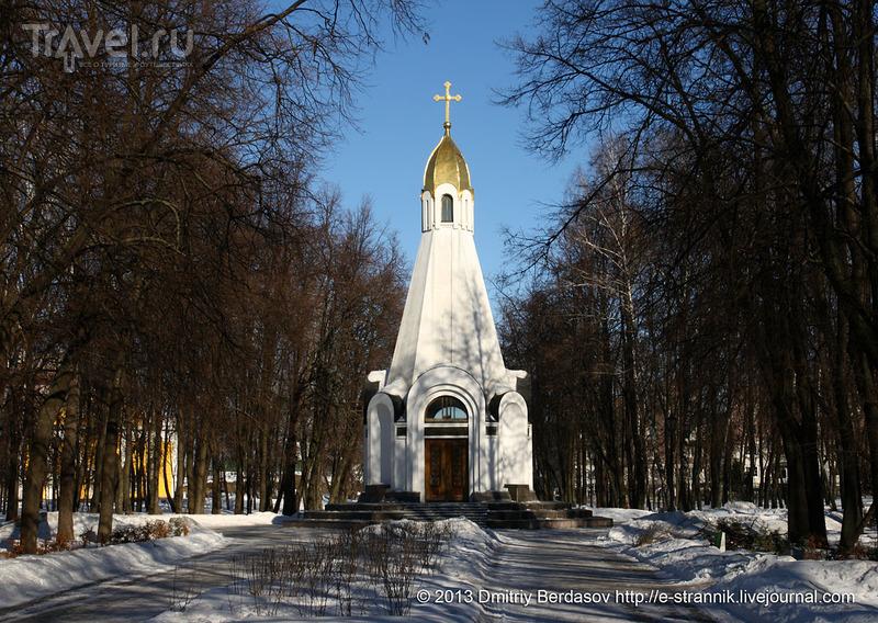 Часовня 900-летия Рязани / Фото из России