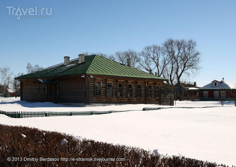 Экспозиция земской школы, Константиново / Фото из России