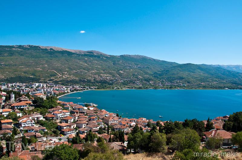 В городе Охрид, Македония / Фото из Македонии