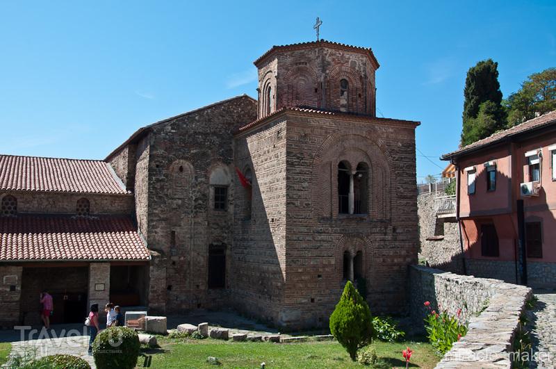Церковь святого Иоанна Богослова в Охриде, Македония / Фото из Македонии