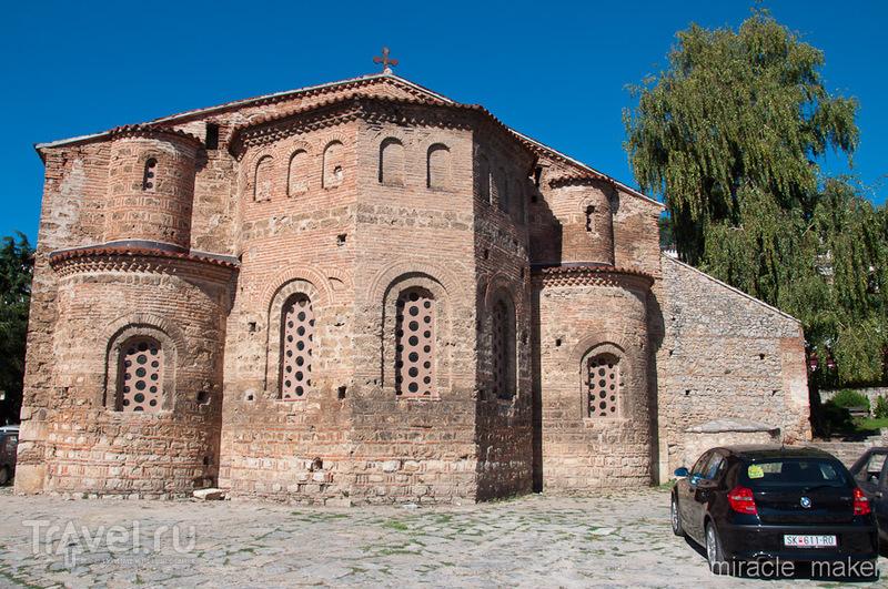 Базилика Святой Софии в Охриде, Македония / Фото из Македонии