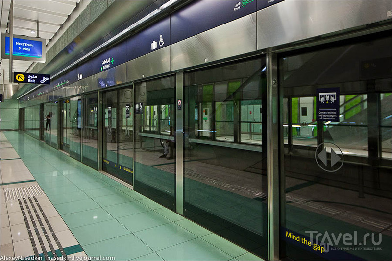 Дубай. Пожалуй, лучшее метро в мире / ОАЭ