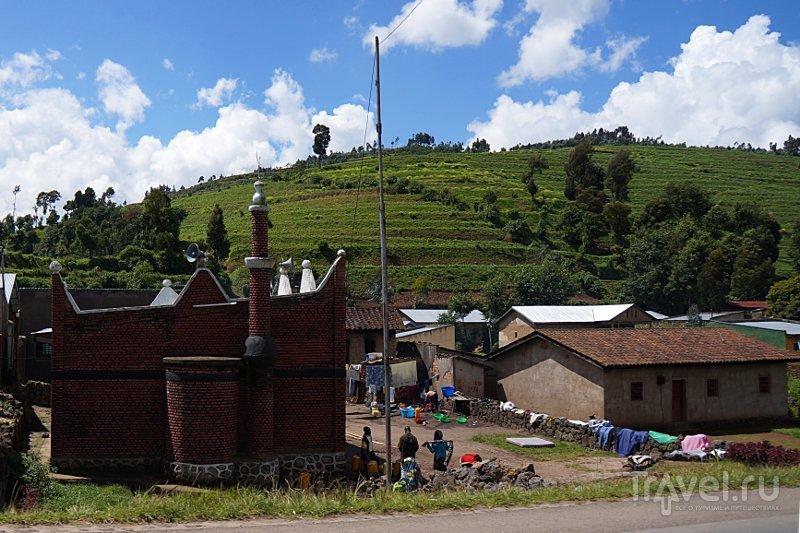 Руандийский Пятигорск и его окрестности / Фото из Руанды