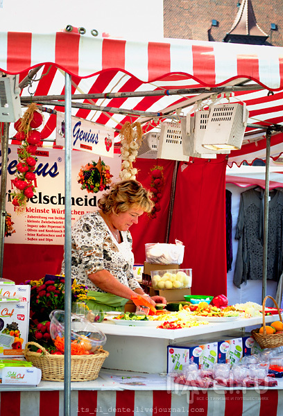 Нюрнберг: прогулка по Рыночной площади / Фото из Германии