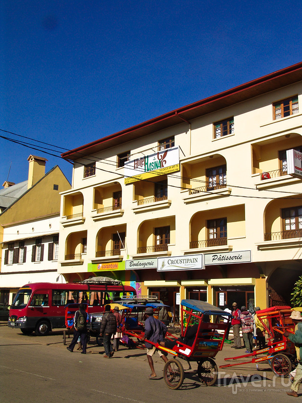 В городе Анцирабе, Мадагаскар / Фото с Мадагаскара