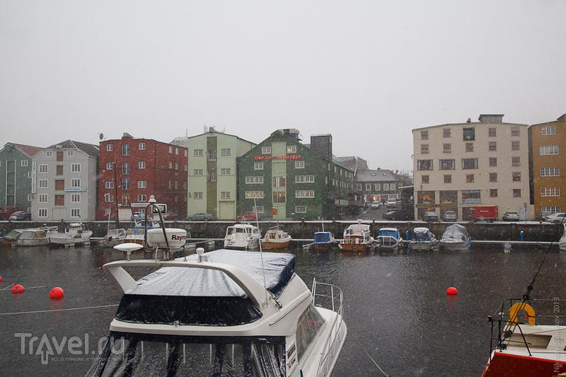 В городе Тронхейм, Норвегия / Фото из Норвегии
