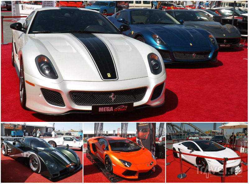 Luxury Car Show 2013 в Дубае, Фестиваль сити / ОАЭ