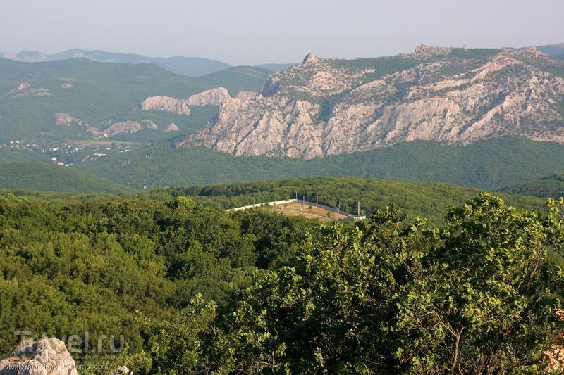 Горный хребет Эчкидаг, Украина / Фото с Украины