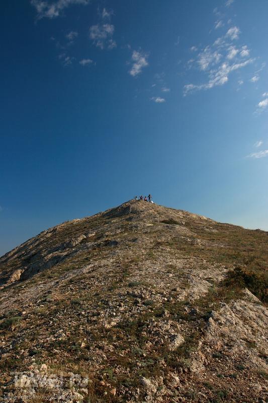Крымские зарисовки: Эчкидаг и Меганом с высоты 670 метров / Фото с Украины