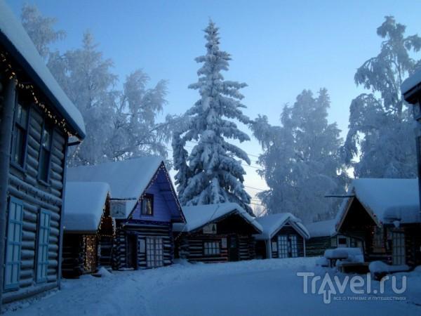 Аляска зимой / Фото из США