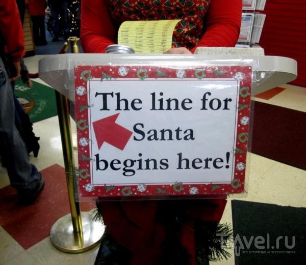 Резиденция Санта-Клауса в городке North Pole, Аляска / Фото из США