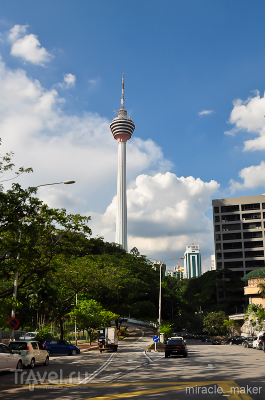 Телебашня Менара Куала-Лумпур, Малайзия / Фото из Малайзии