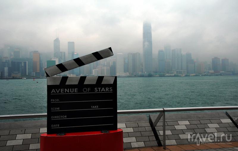 Аллея звезд, Гонконг / Фото из Макао
