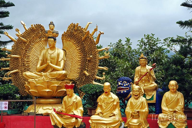 """Монастырь """"Тысячи Будд"""", Гонконг / Фото из Макао"""