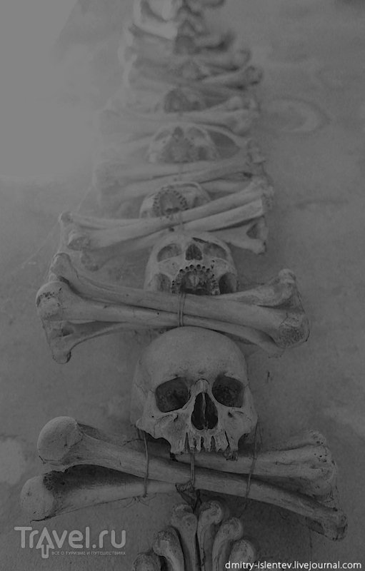 Кладбищенский костёл Всех Святых с костехранилищем / Чехия