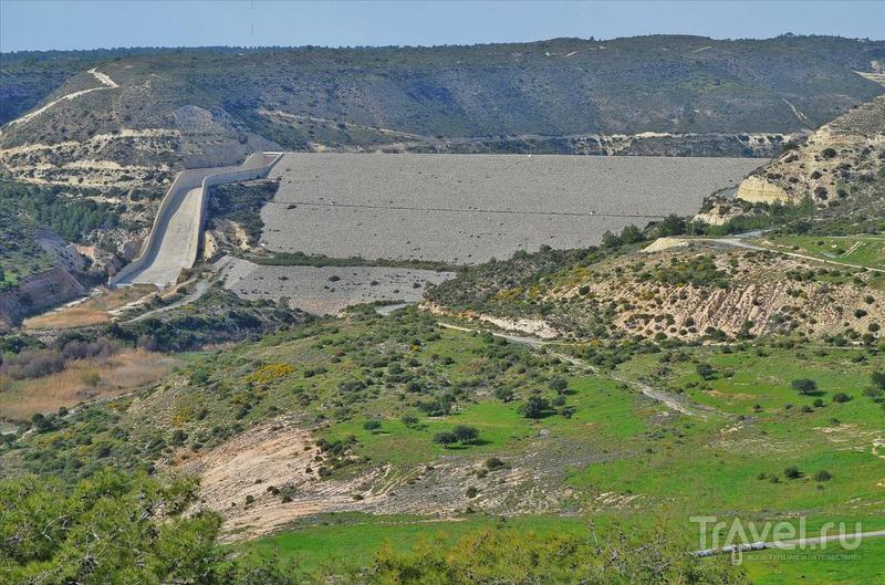 Водохранилище Курис, Кипр / Фото с Кипра