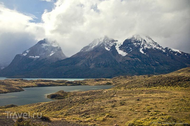 Озеро Норденшёльд, Чили / Фото из Чили