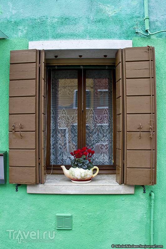 Краски Бурано / Фото из Италии